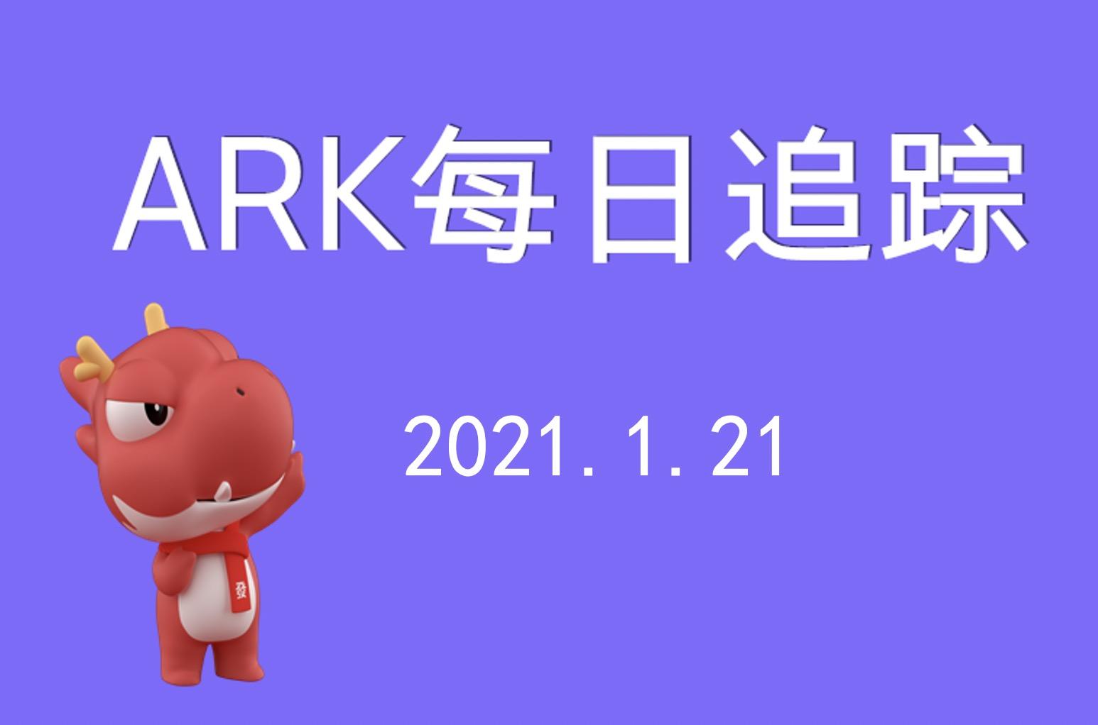 ARK每日追踪 | 继续大买腾讯!移卡、百度亦获女股神青睐
